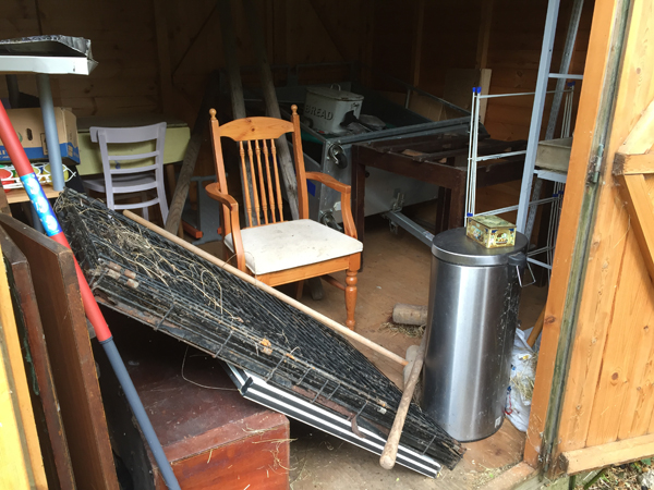 Shed Clearance in Cambridgeshire