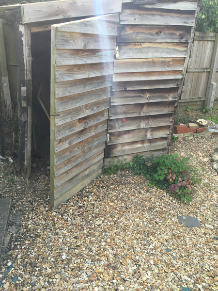 Shed Removal in Linton