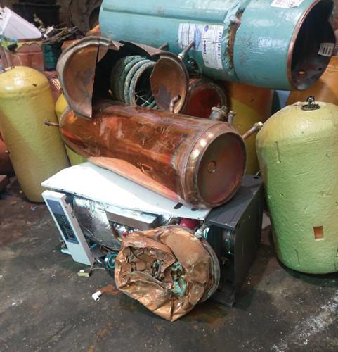 Copper Tanks