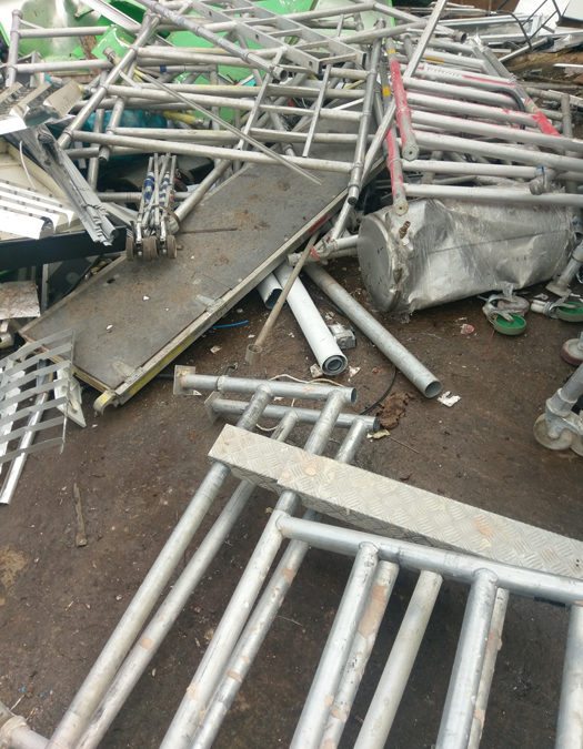 Metal waste removal in Wisbech