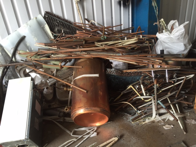 Scrap copper purchased in Littleport and Kings Lynn