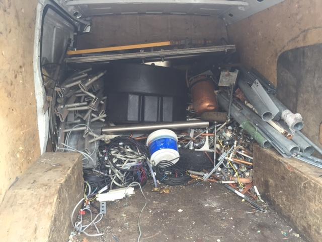 Scrap metal collection in Cambridge
