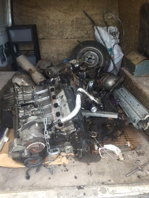 Scrap auto parts in Ely