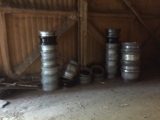 Alloys from a car garage in Norfolk