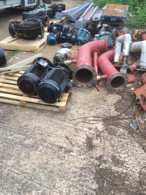 Scrap Pipes purchased in Cambridge